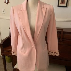 NWOT Forever 21 Pink Blazer/Fully Lined Size M